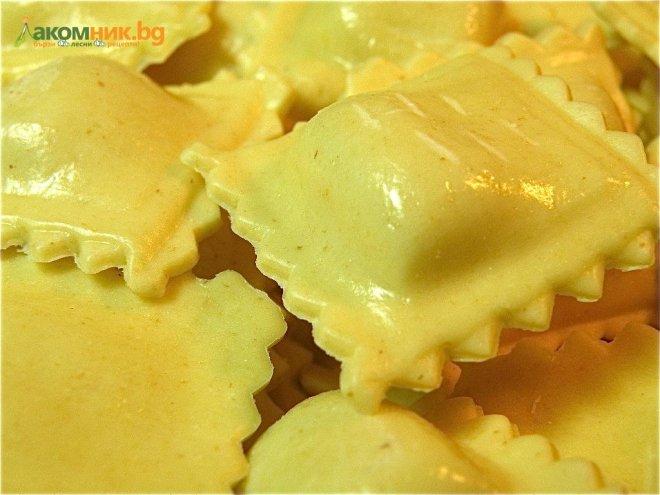 Равиоли със сирене