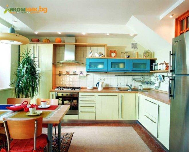 Цветовете в кухнята влияят на теглото