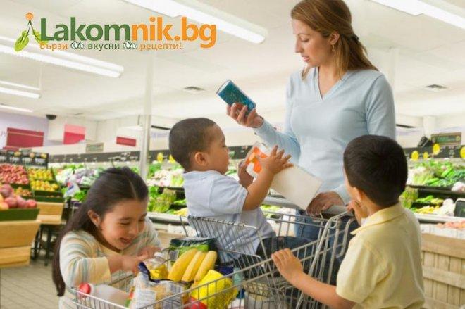 Пазарувайте правилно, за да се храните здравословно