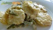 Картофи със зелен фасул