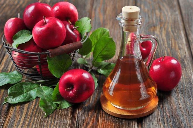 Ябълковият оцет чисти жлъчката