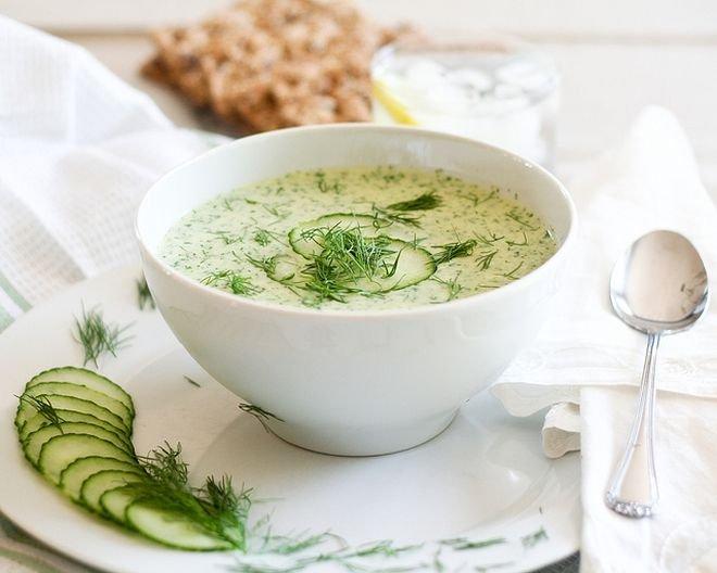 Студена лятна супа