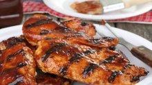 Пиле с плодова марината