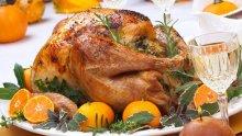 Пълнено пиле с гъби