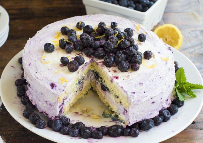 Боровинкова торта с извара